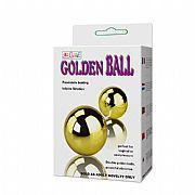 Golden Duo Ball - Bolas Duplas com Vibrador para Clitóris e Estímulo...