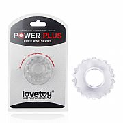 Power Plus Anel Peniano Transparente - Lovetoy