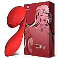 Estimulador de Clitóris com pulsação e Aquecimento - Tina - Kisstoy