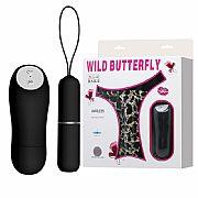 Calcinha Massageadora com Cápsula - Wild Butterfly - Baile
