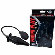 Plug Anal Inflável Pump Play - 12cm