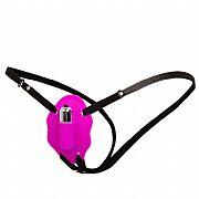 Cinta Estimuladora de Clitóris com Vibrador - 12 Velocidades - Pretty...