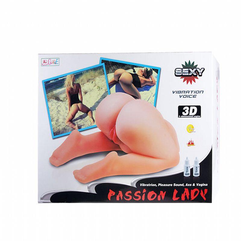 Masturbador Masculino Passion Lady Vagina e Ânus - Baile