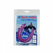 Dildo em Formato de Golfinho- Double Dolphin - Baile