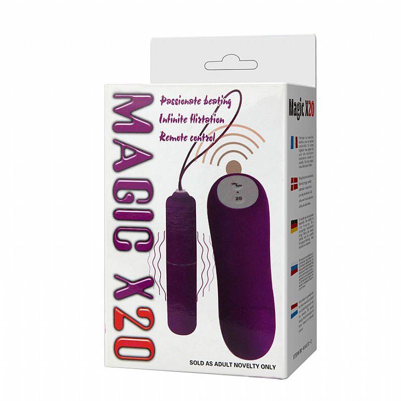Vibrador Wireless Controle Remoto de 20 Vibrações - Pretty Love -...